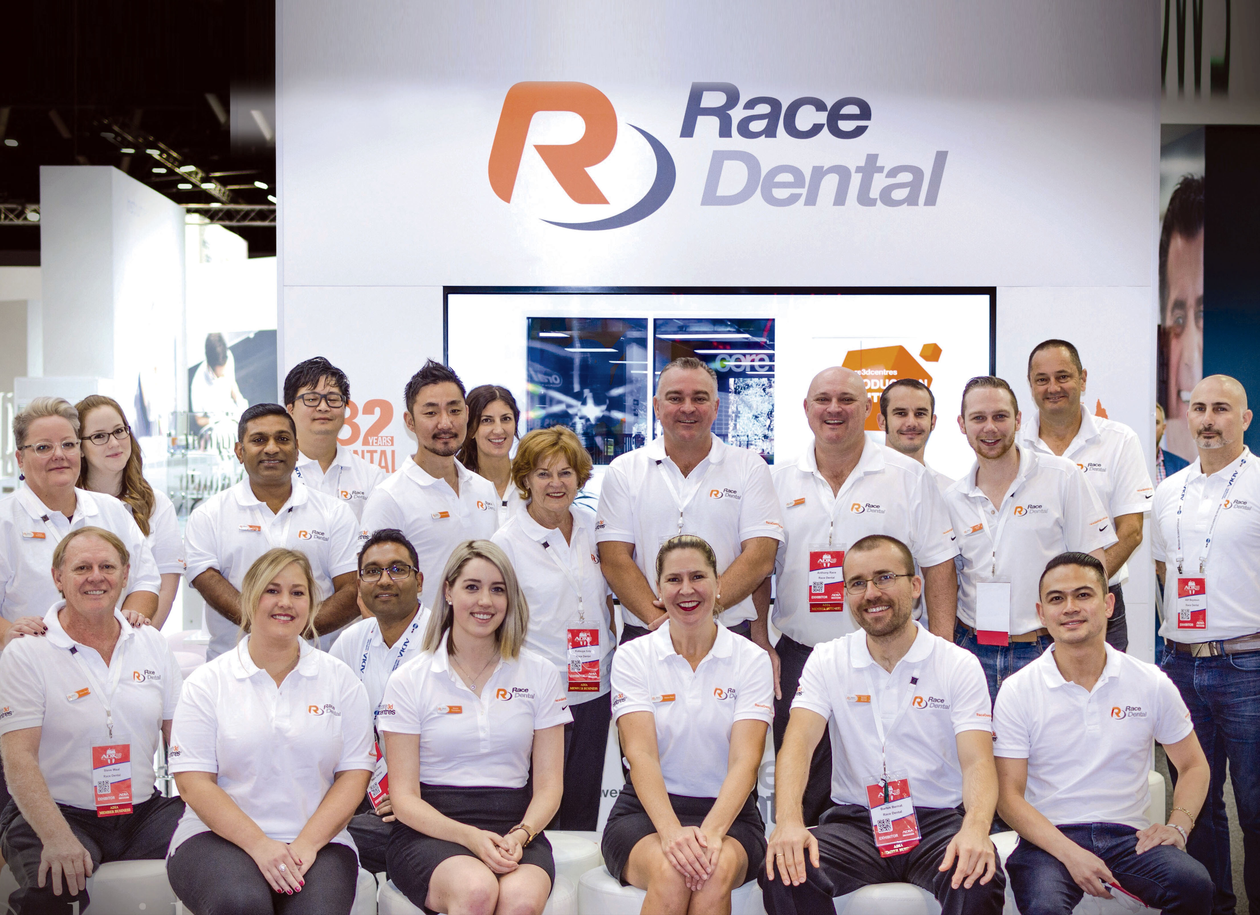 Race Dental at the ADX18